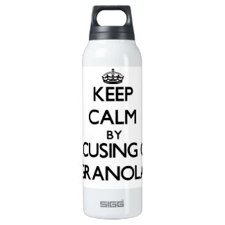 Keep Calm by focusing on Granola SIGG Thermo 0.5L Insulated Bottle