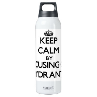 Keep Calm by focusing on Hydrants SIGG Thermo 0.5L Insulated Bottle