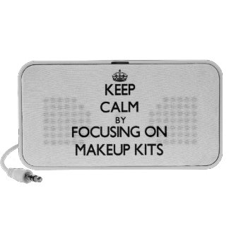 Keep Calm by focusing on Makeup Kits Mp3 Speakers