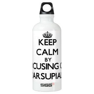 Keep Calm by focusing on Marsupials SIGG Traveler 0.6L Water Bottle