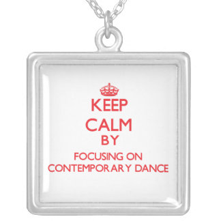 Keep calm by focusing on on Contemporary Dance Custom Jewelry