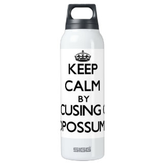 Keep Calm by focusing on Opossums SIGG Thermo 0.5L Insulated Bottle