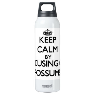 Keep Calm by focusing on Possums SIGG Thermo 0.5L Insulated Bottle