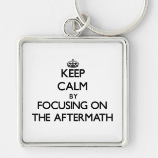 Keep Calm by focusing on The Aftermath Keychains