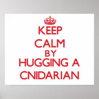 Keep calm by hugging a Cnidarian Print