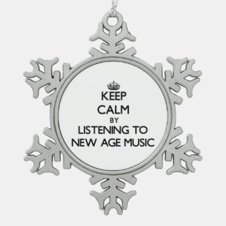 Keep calm by listening to NEW AGE MUSIC Ornament