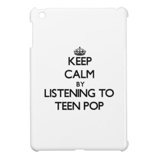 Keep calm by listening to TEEN POP Case For The iPad Mini