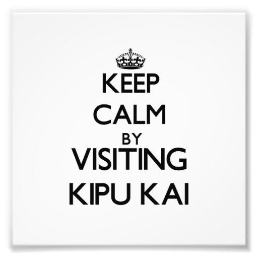 Keep calm by visiting Kipu Kai Hawaii Photograph
