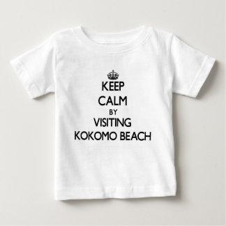 Keep calm by visiting Kokomo Beach Northern Marian T-shirts