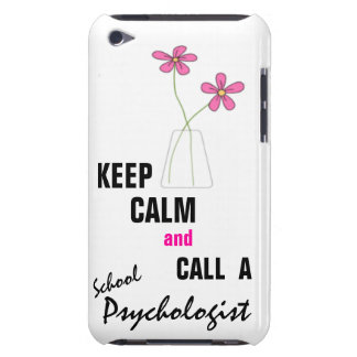 KEEP CALM & CALL A School Psychologist iPod Touch Case-Mate iPod Touch Case