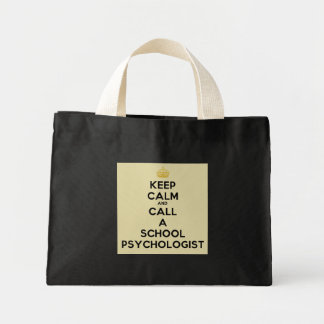 Keep Calm & Call a School Psychologist Tote