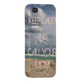 KEEP CALM CALL MOM CASES FOR iPhone 4