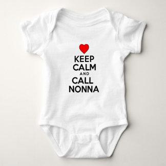 Keep Calm Call Nonna Shirt