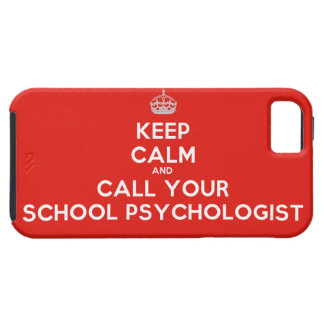 Keep Calm & Call Your School Psych iPhone Case