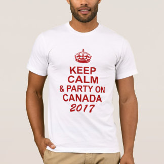 Keep Calm Canada 150 T-Shirt