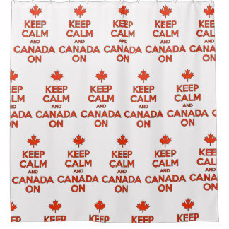 Keep Calm & Canada On in the Shower ;)