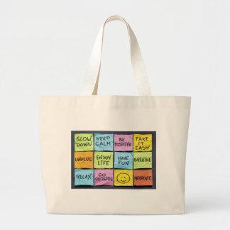 Keep Calm Canvas Bag