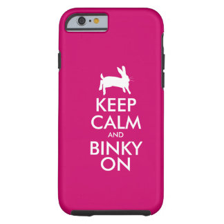 KEEP CALM TOUGH iPhone 6 CASE