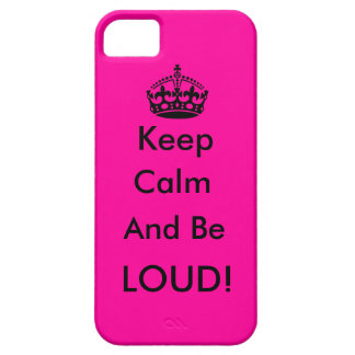 Keep Calm Case For The iPhone 5