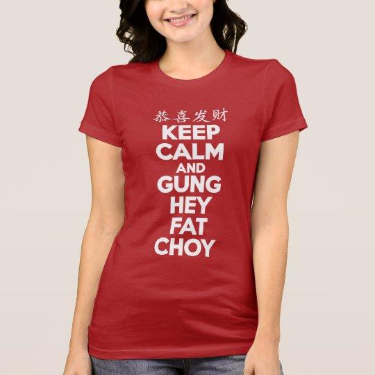 KEEP CALM CHINESE NEW YEAR T-Shirt