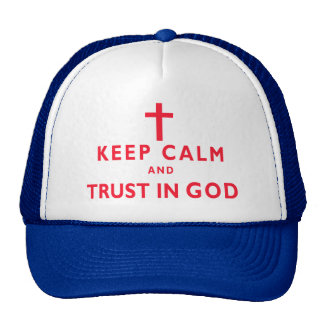 Keep Calm CHRISTIAN Hats for Men and Women