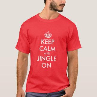 Keep Calm Christmas t shirt   Customizable gift