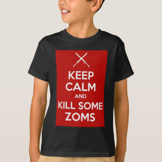 Keep Calm (Crossed Swords Red) T-Shirt