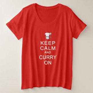 KEEP CALM & CURRY ON shirts & jackets