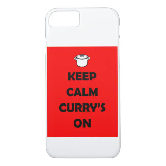 'KEEP CALM, CURRY'S ON' iPhone Case