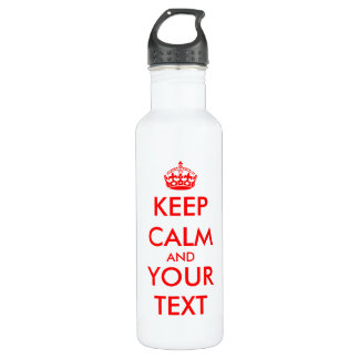 Keep calm | Customizable template.