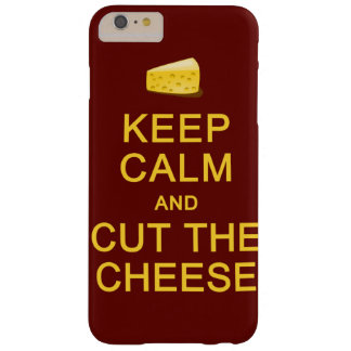 Keep Calm & Cut The Cheese cases Barely There iPhone 6 Plus Case