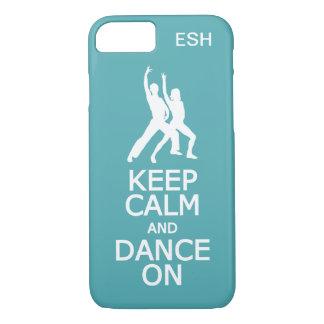 Keep Calm & Dance On custom phone cases