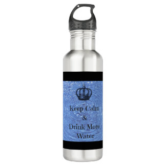 Keep Calm Drink More Water 710 Ml Water Bottle