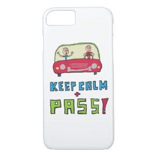 Keep Calm Driving Test iPhone 8/7 Case