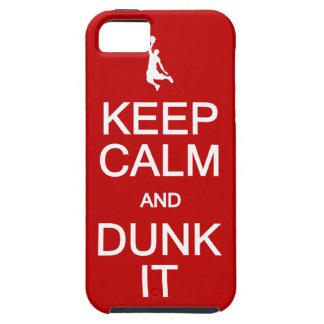 Keep Calm & Dunk It iPhone 5 Case-Mate