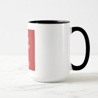Keep Calm & Eat Cake Mug! Mug