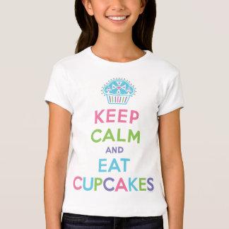 Keep Calm Eat Cupcakes Tshirts