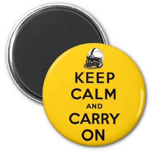 Keep Calm Football Magnets