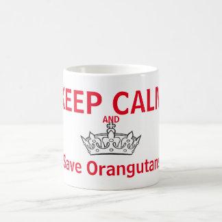 Keep Calm for Orangutans Coffee Mug