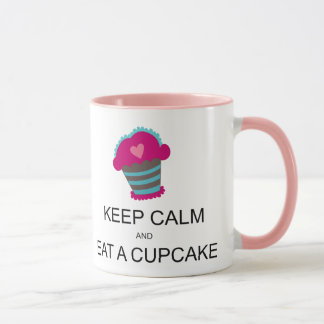 Keep Calm Funny Mug Coloured Handle