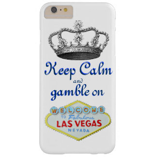 Keep Calm Gamble On Las Vegas Barely There iPhone 6 Plus Case
