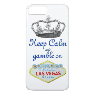Keep Calm Gamble On Las Vegas Case-Mate iPhone Case