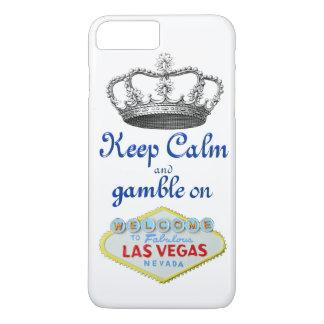 Keep Calm Gamble On Las Vegas iPhone 7 Plus Case