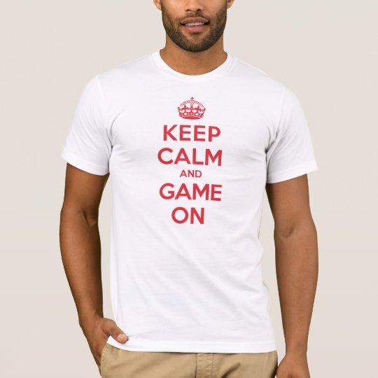 Keep Calm Game T-Shirt