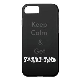 """Keep Calm & Get Smart-Fond"" iPhone 7 / iPad Case"