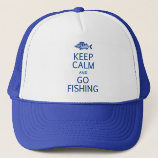 Keep Calm & Go Fishing hat