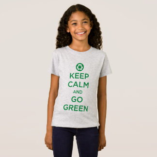 """Keep Calm Go Green"" T-Shirt"
