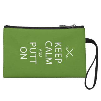 Keep Calm - Golf Gift Wristlet