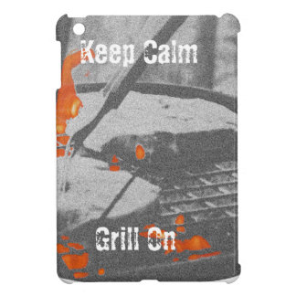 Keep Calm Grill On Case For The iPad Mini