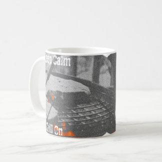 Keep Calm Grill On Coffee Mug